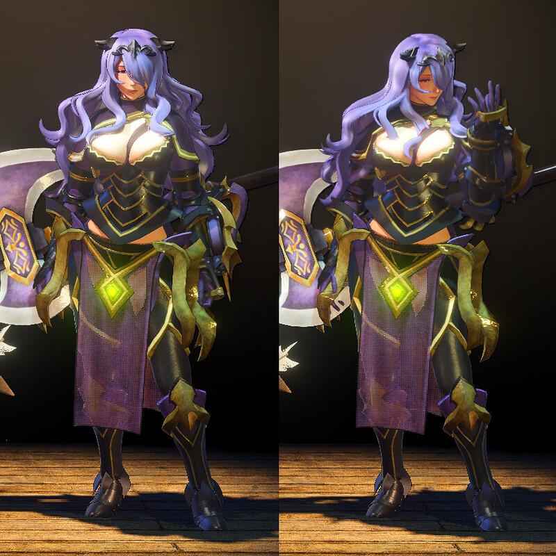 MHW Mod - Camilla