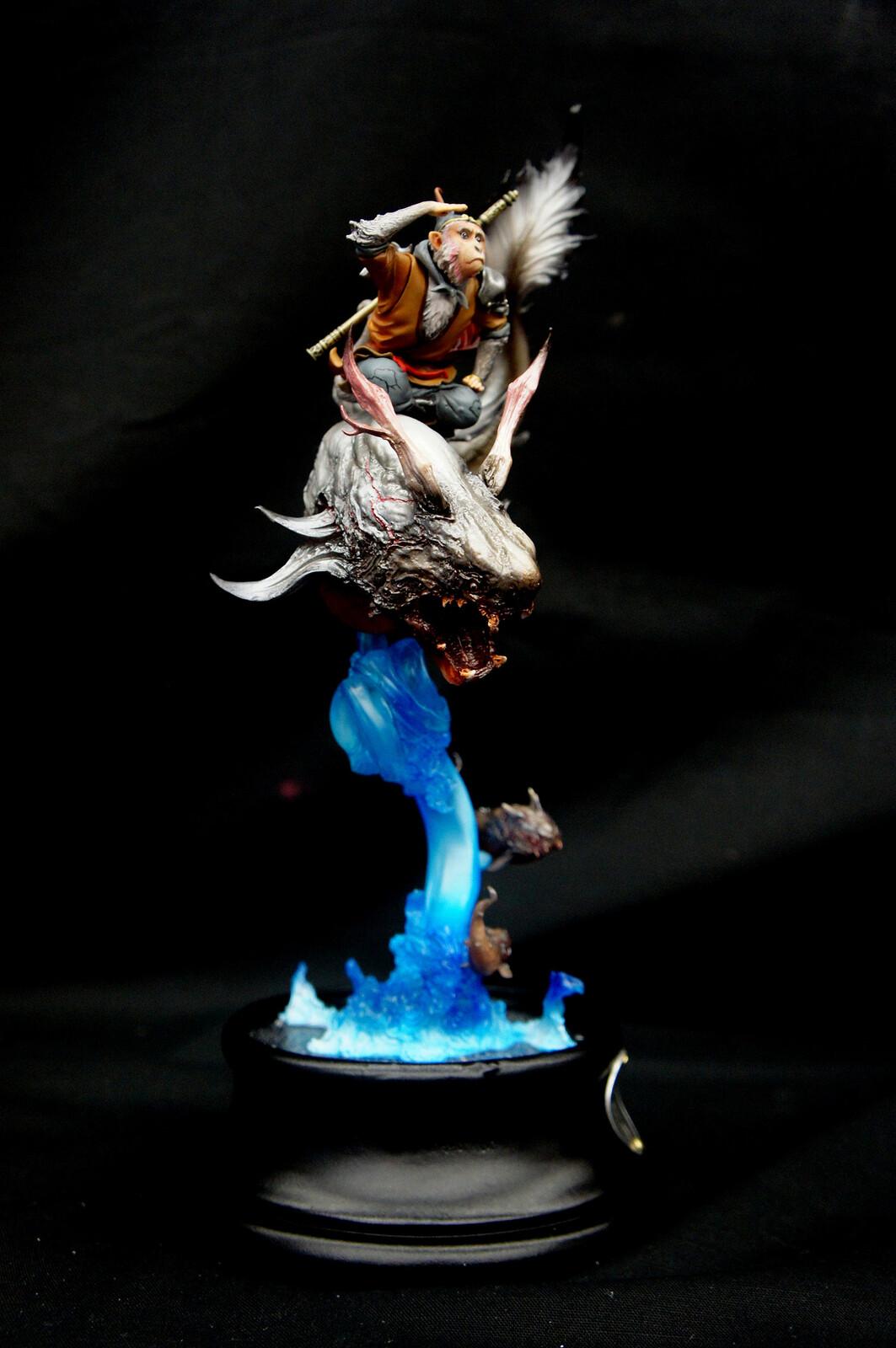 《丙申》 Bing-Shen The Monkey God Art Statue