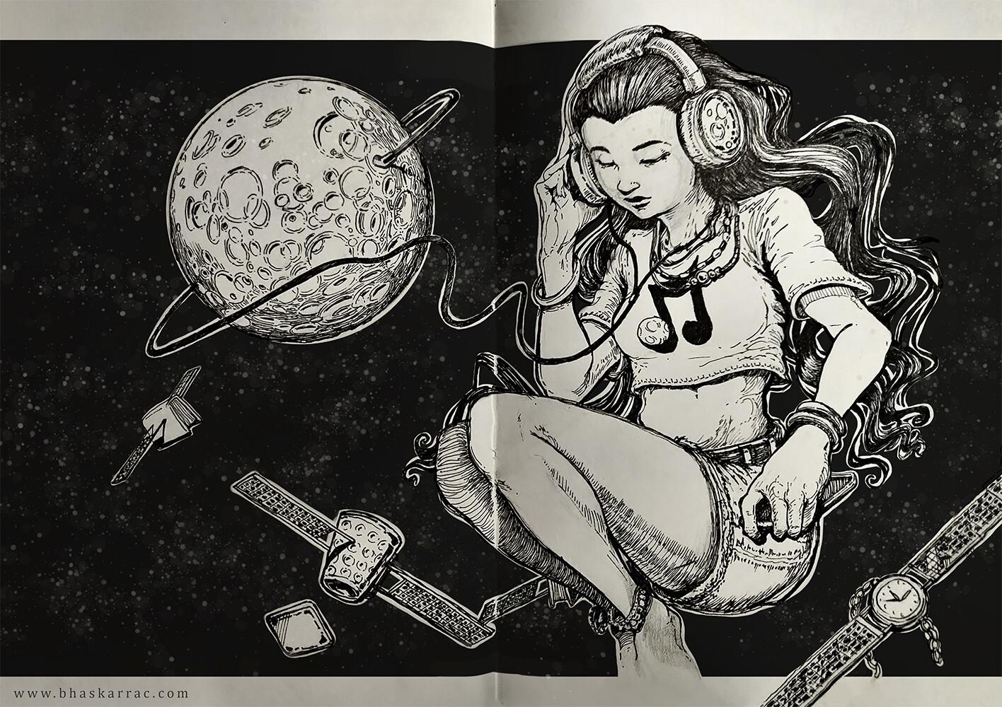 Plug into your fav moon