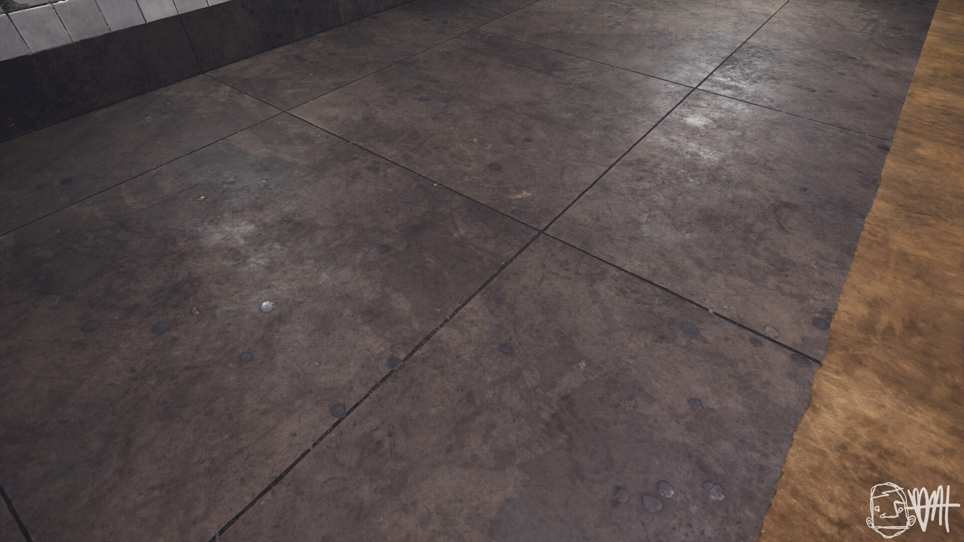 Brett marshall tucker subway concrete shot 1