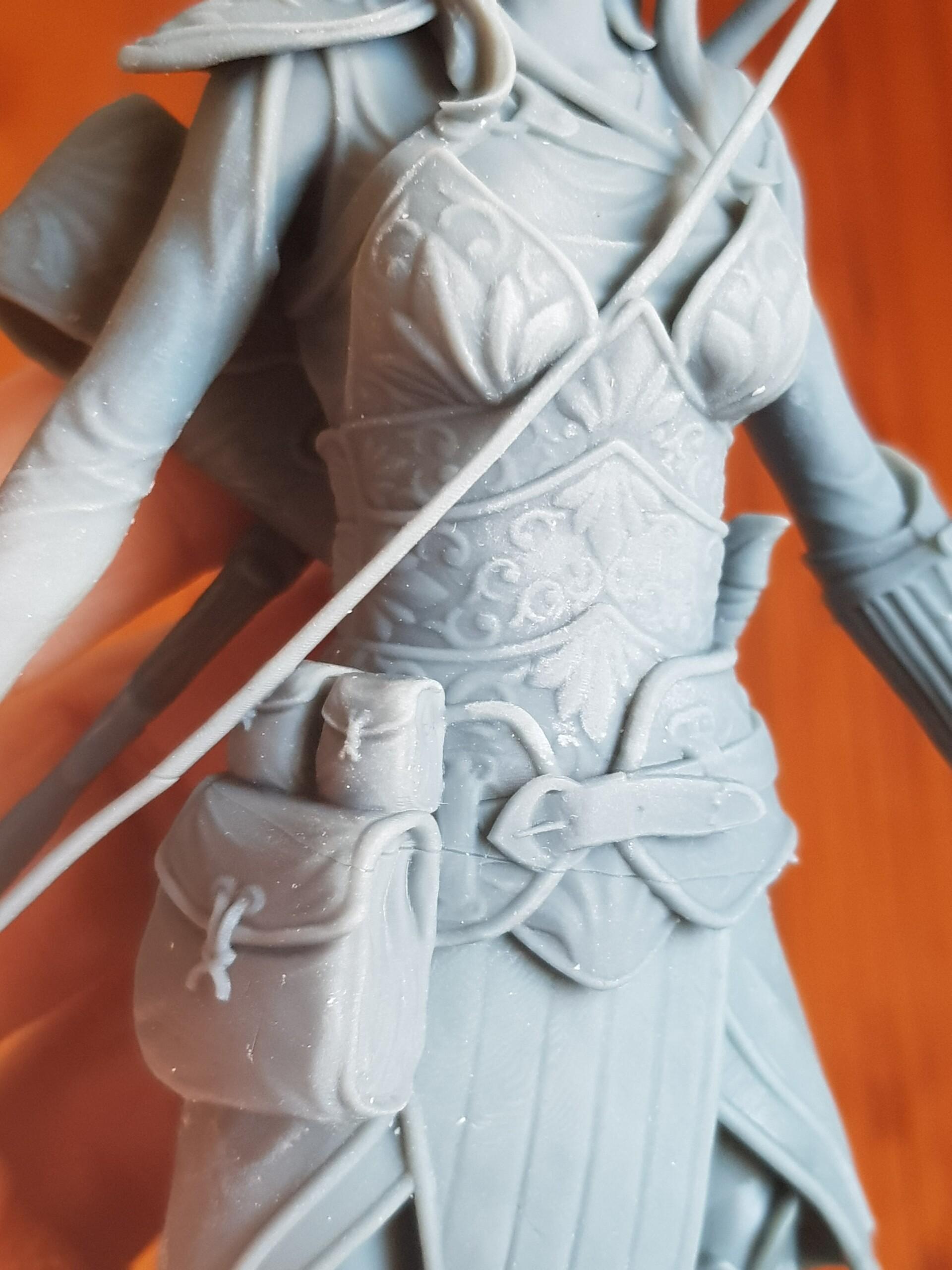 Big 3D print (20cm) in neutral pose