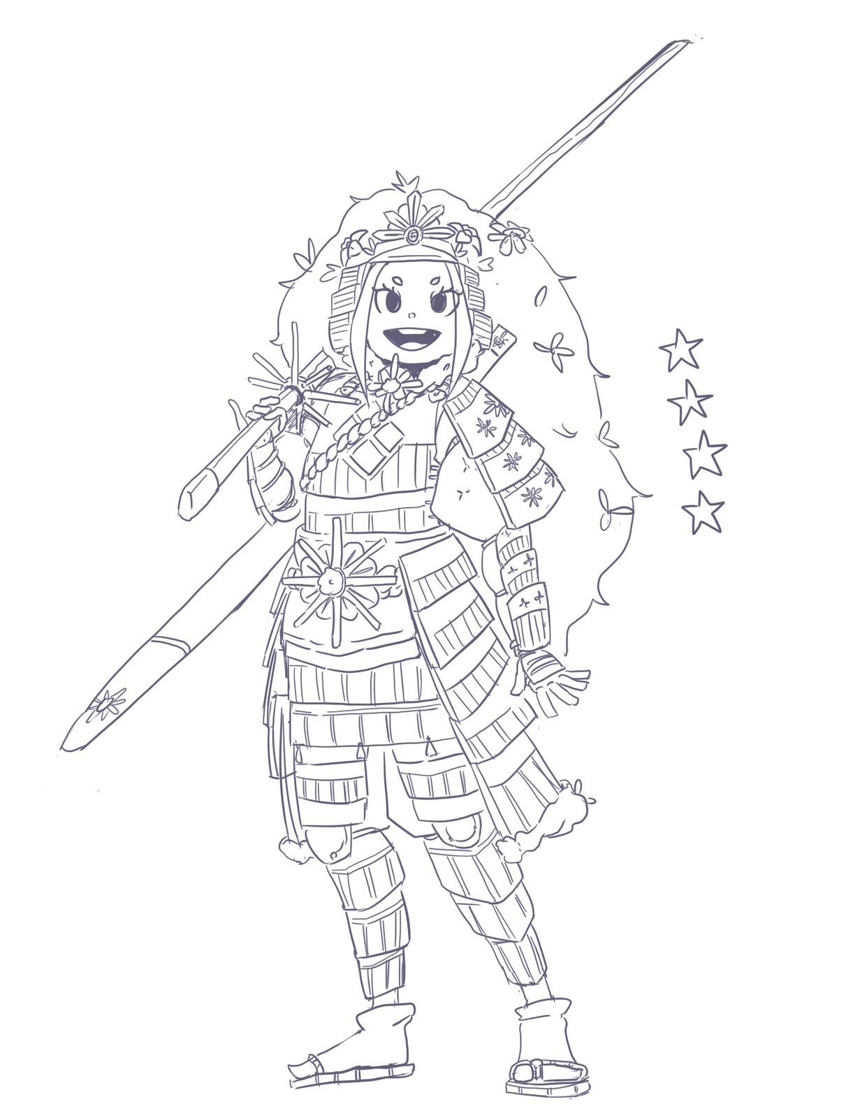 Japanese armor study