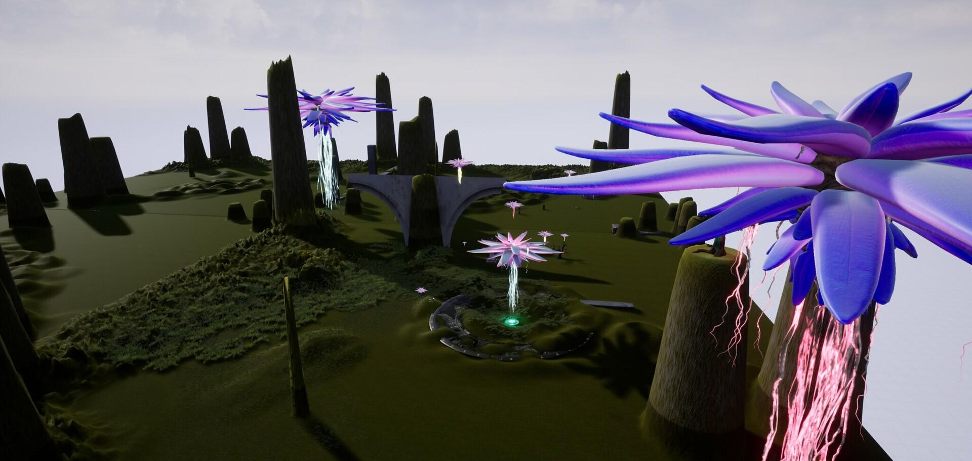 Unreal Engine Flower Landscape I