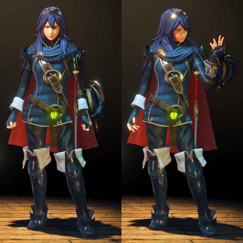MHW Mod - Lucina