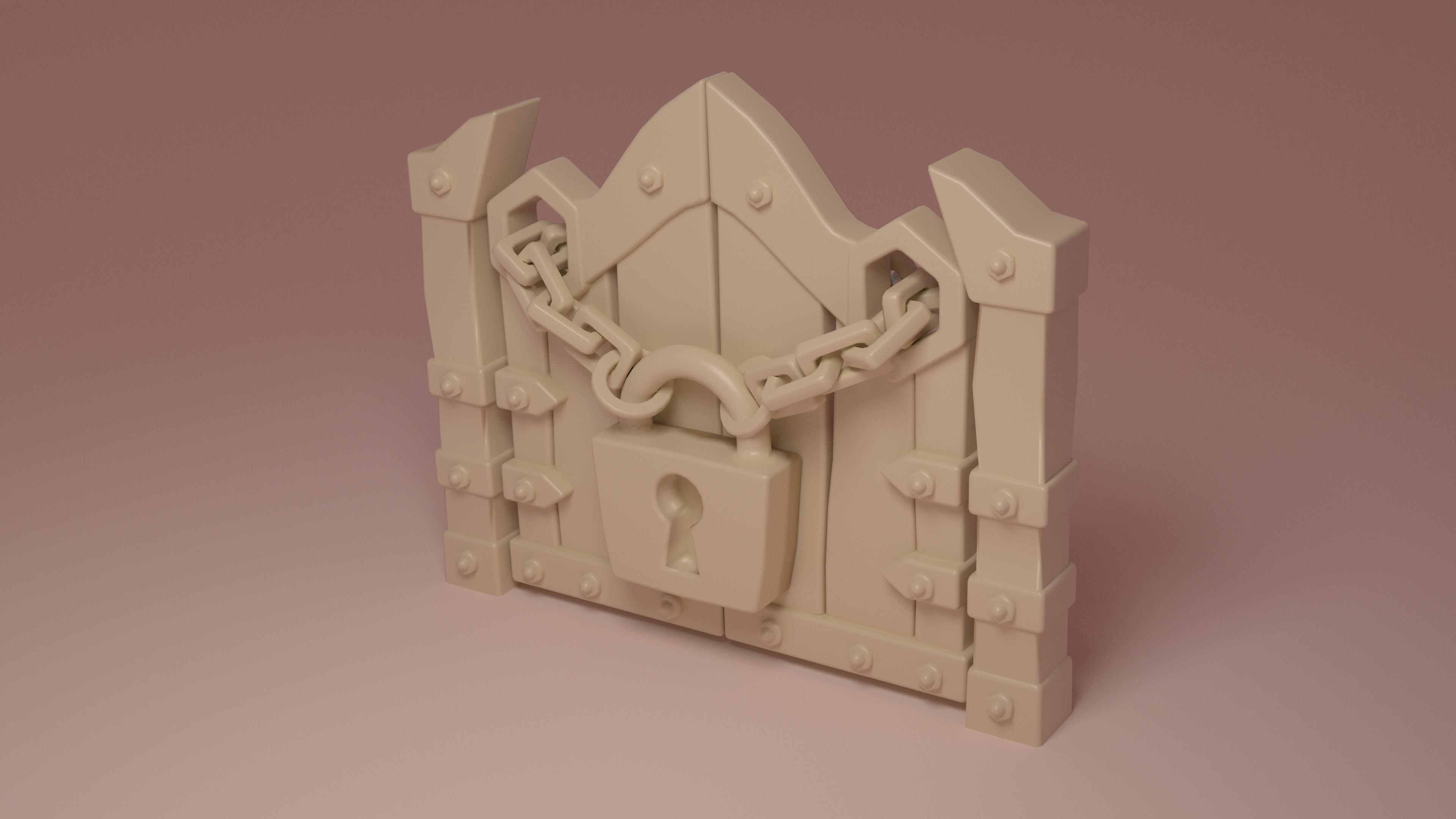 Skylanders Imaginators Padlocked Door