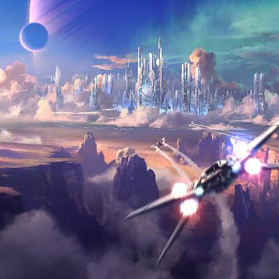 Dmitriy kuzin sci fi city