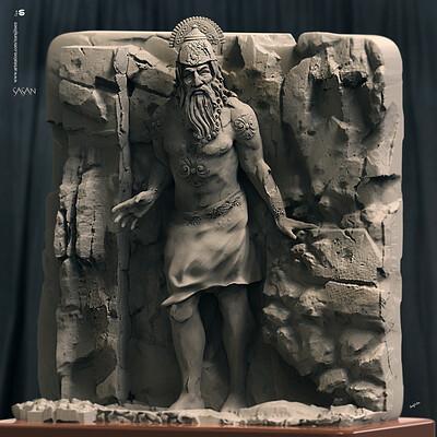 Surajit sen sasan digital sculpture surajitsen jan 2020a