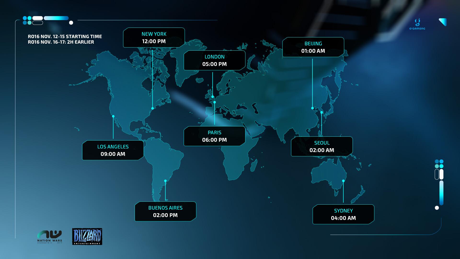 International Schedule