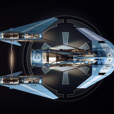 Encho enchev spaceship concept3