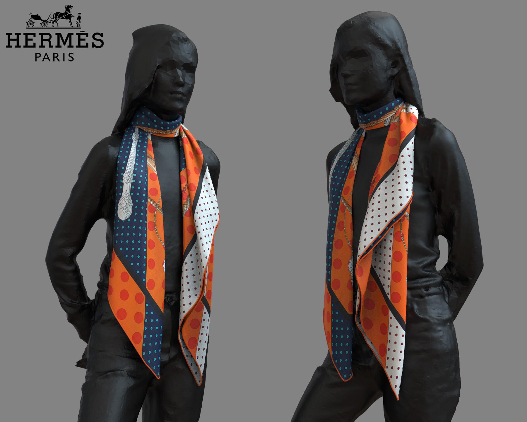 Clement bassery foulard2