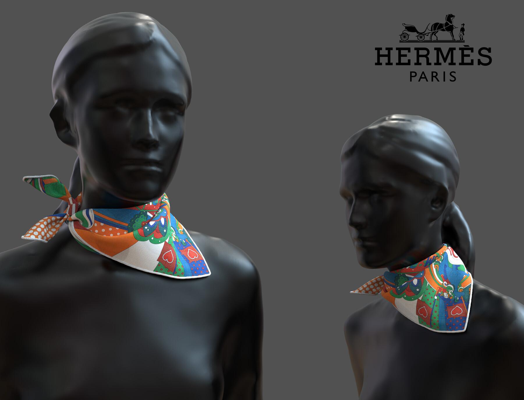 Clement bassery foulard4
