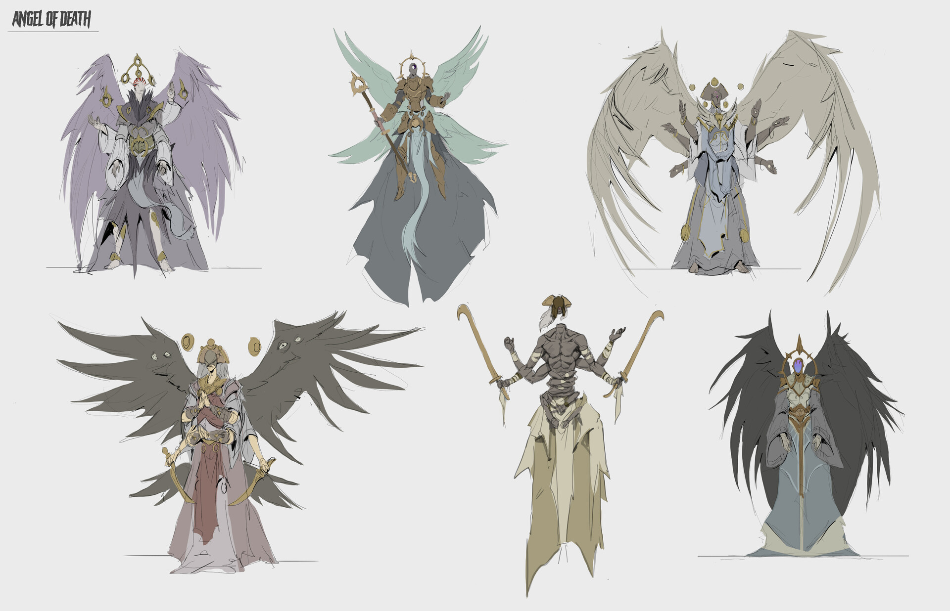 Jordy knoop angel of death sketches 4