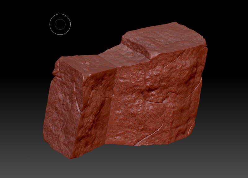 I used 3DS Max to create the base mesh, Zbrush for sculpting.