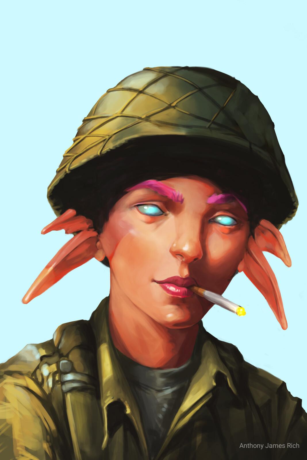 Pixie Soldier