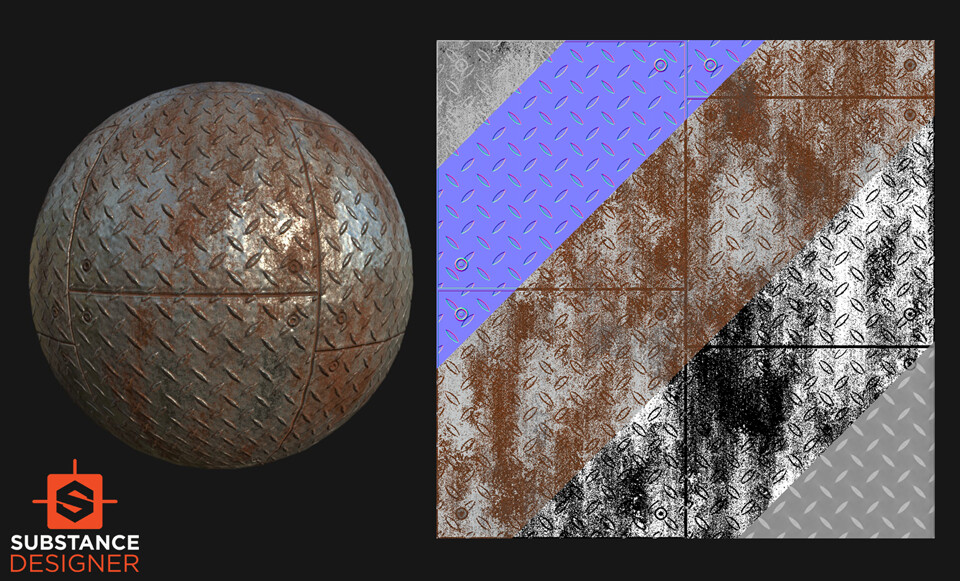 Pallavi maruvada rustymetal diamondcut floor 04