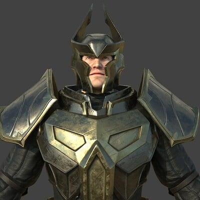 Oscar trejo dark avenger front m3