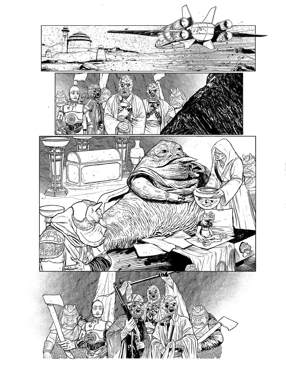 Star Wars: Age Of Rebellion - Jabba The Hutt (2019) #1