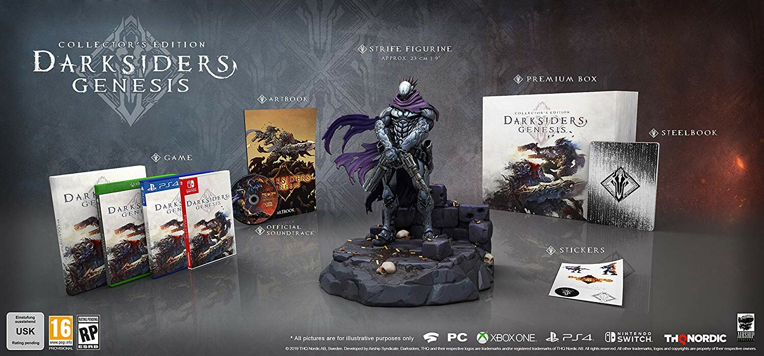Hector moran hec darksiders genesis collectors edition