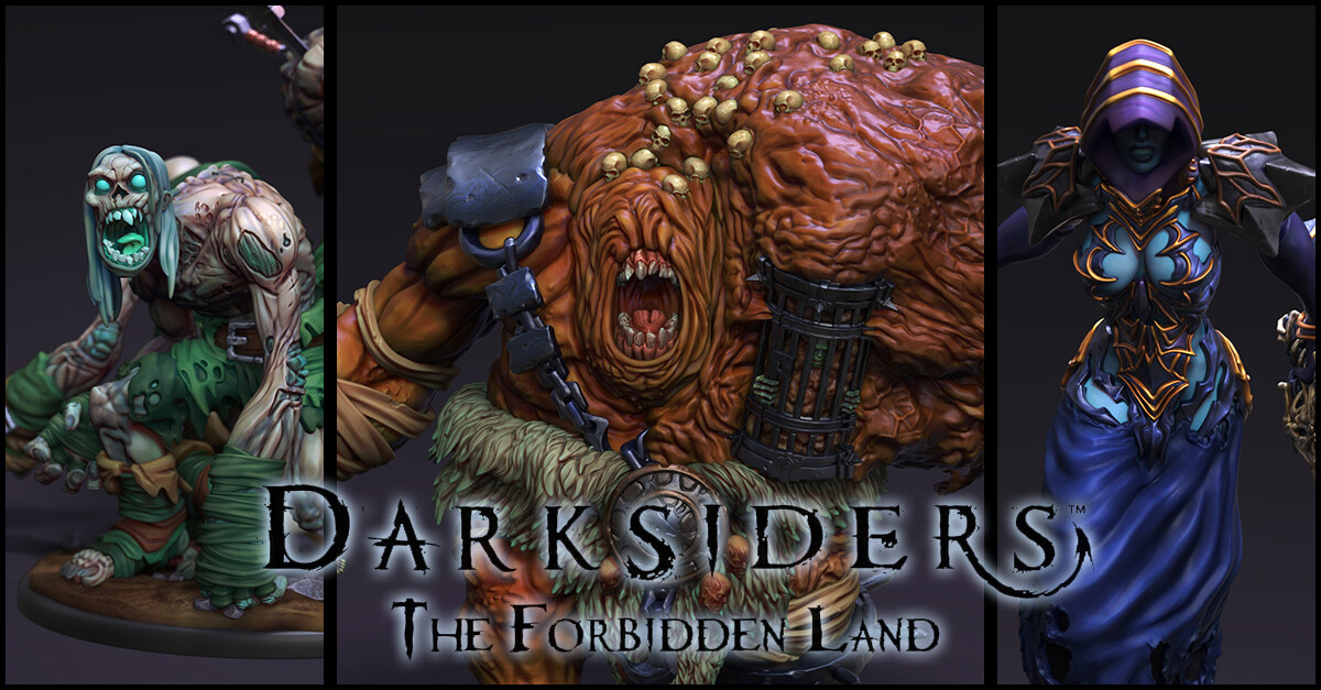 Darksiders: The Forbidden Land (Enemies)