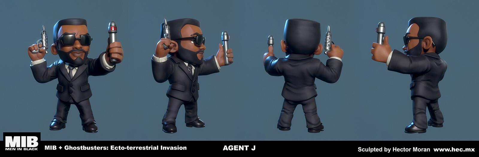 Hector moran hec agent j shots