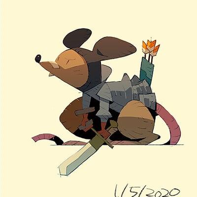 Satoshi matsuura 2020 01 05 rat knight s