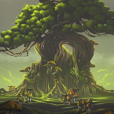 Nele diel mushroom tree