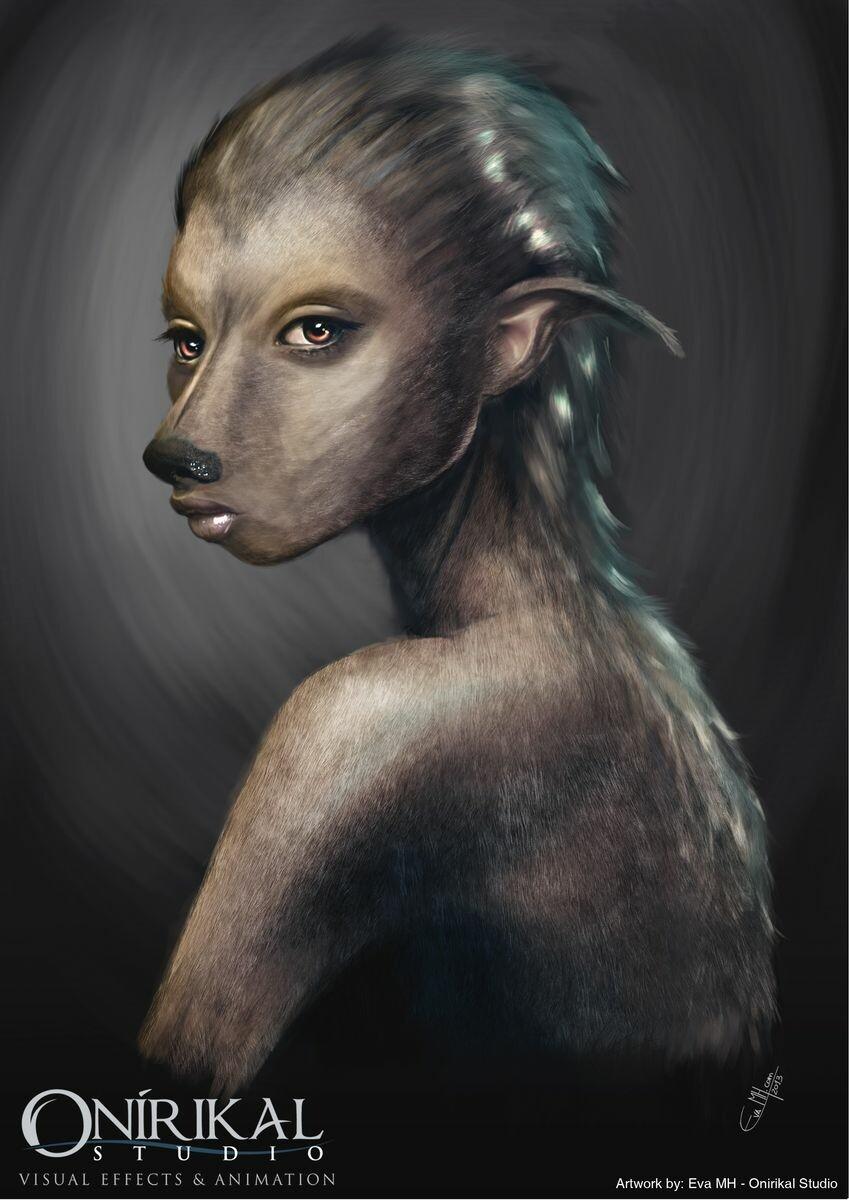 Greyhound Girl