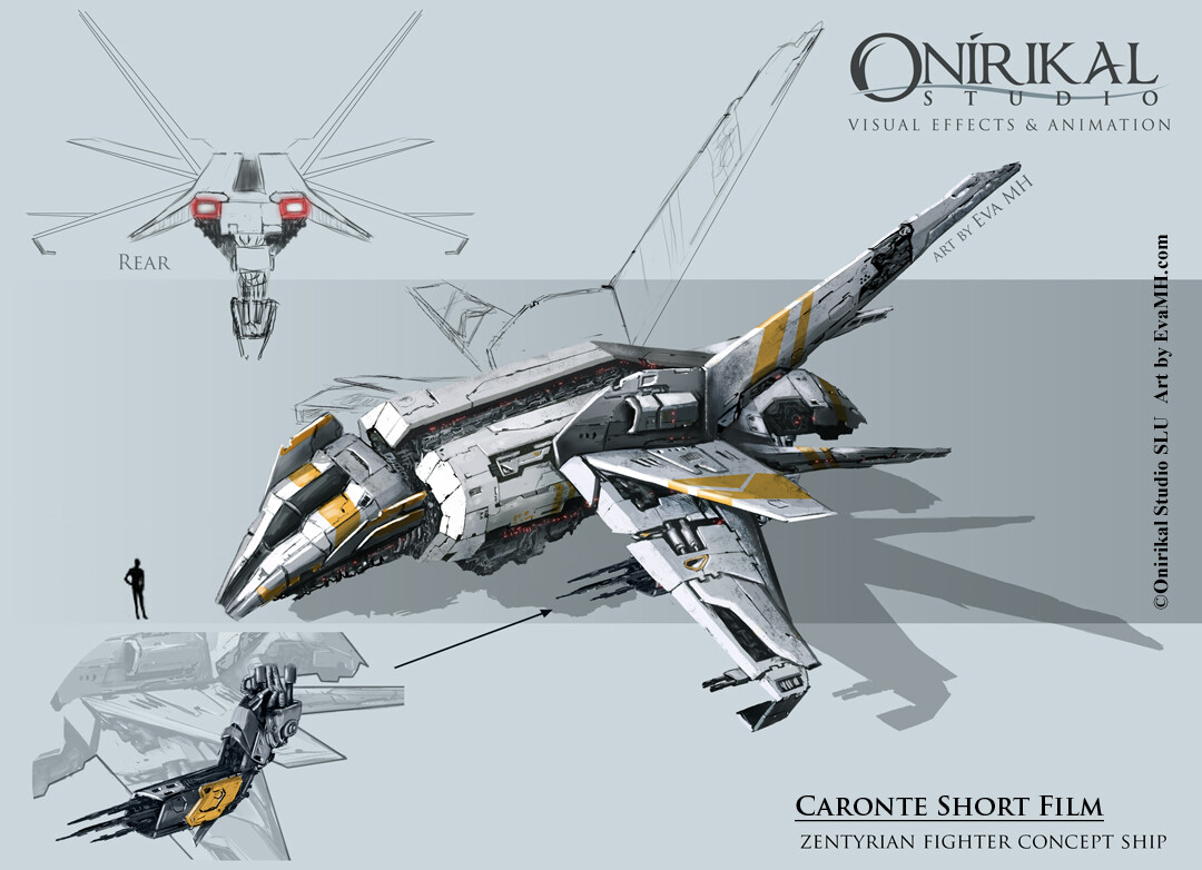 CaronteShort_Fighter concept art
