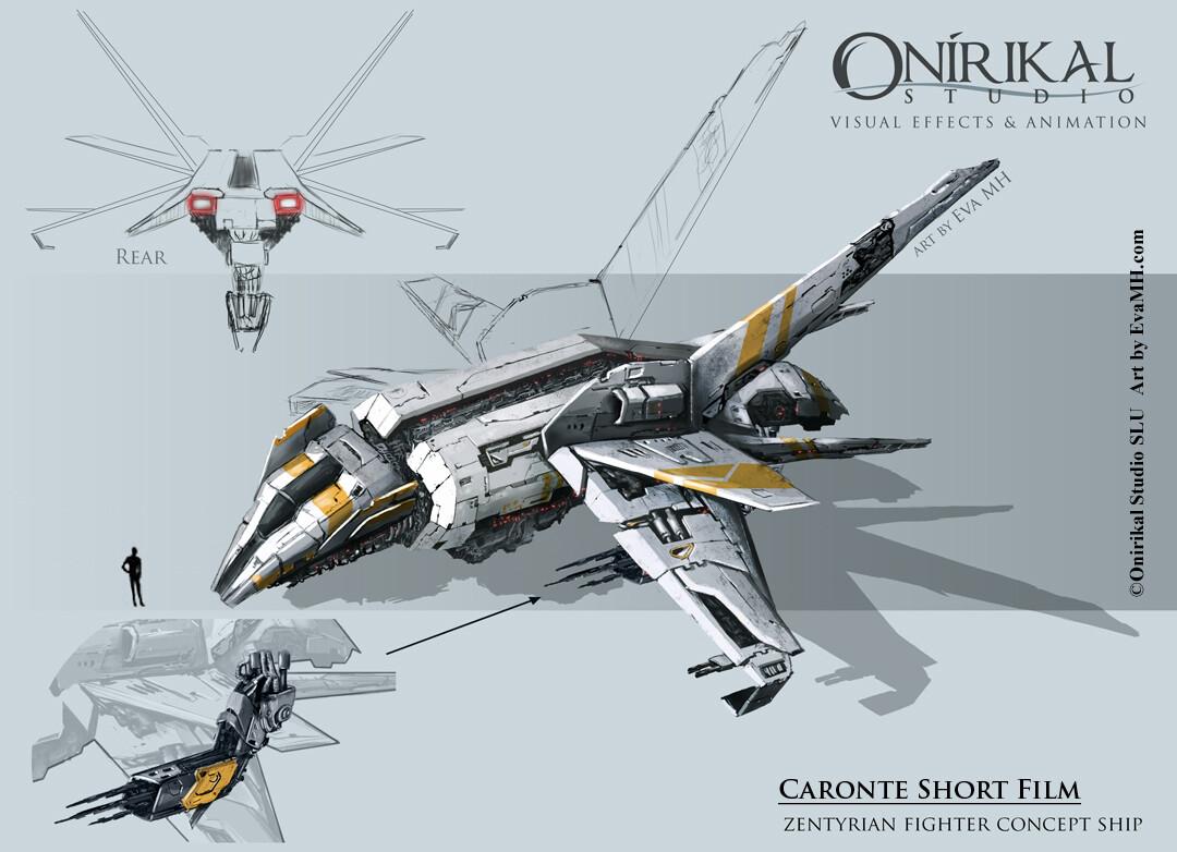 CaronteShort_Fighter concept art