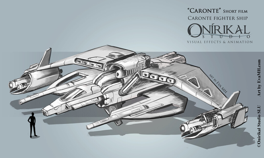 CaronteShort ship concept art