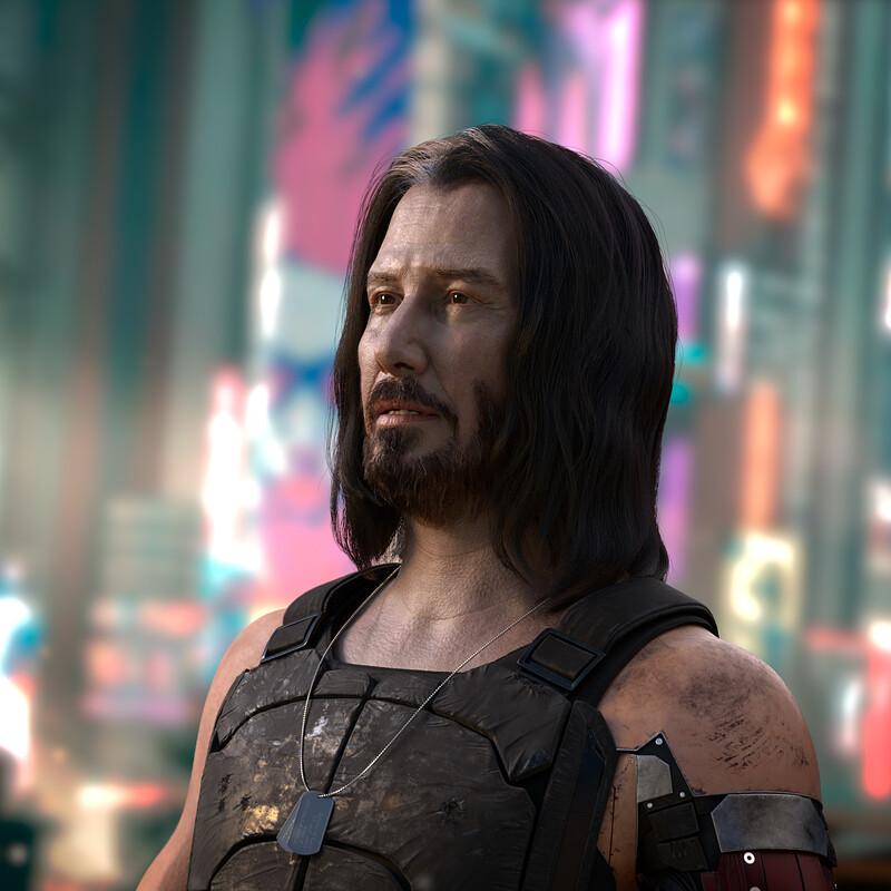 Keanu Reeves - Johnny Silverhand