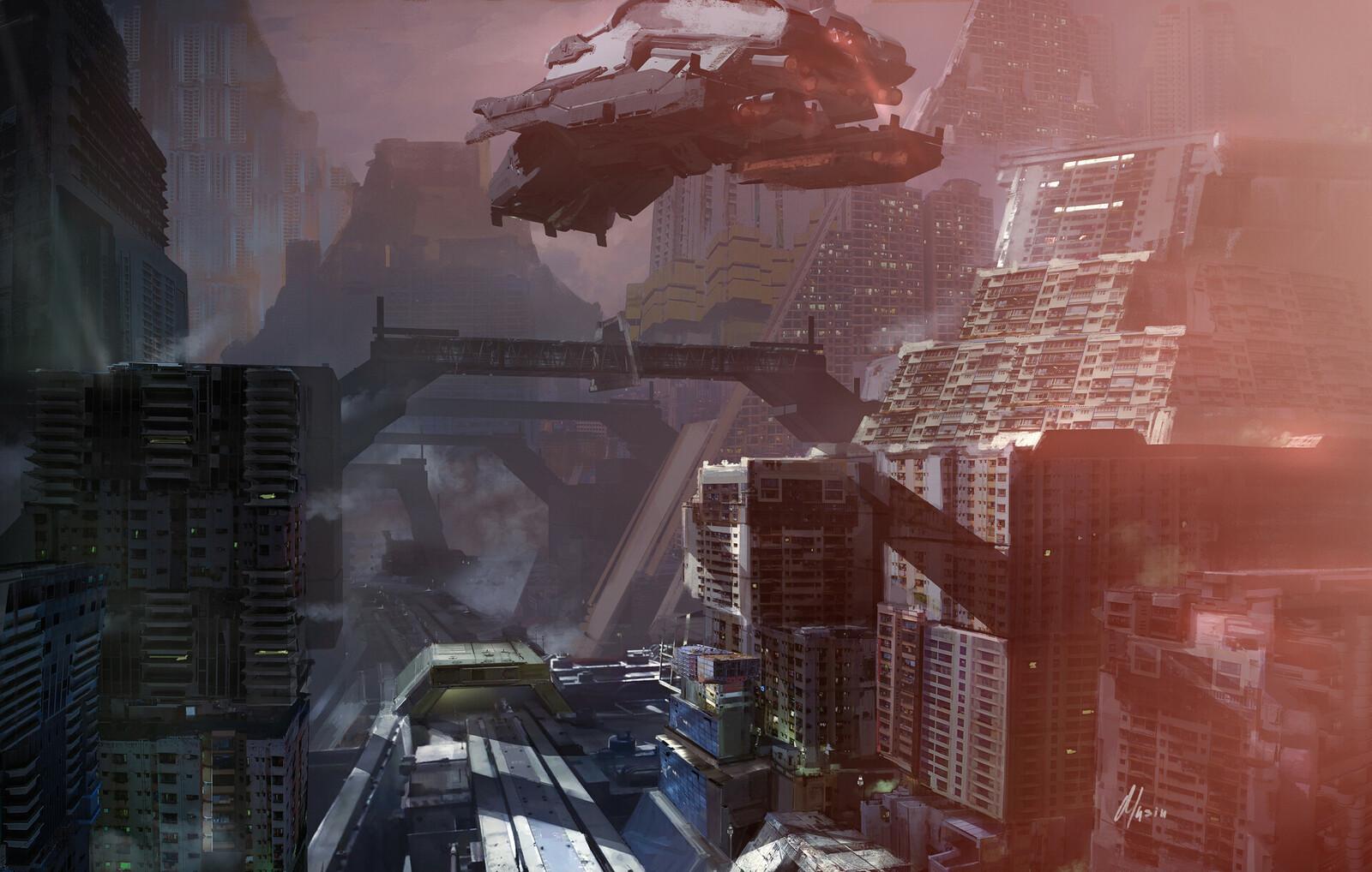 A robot City: transport