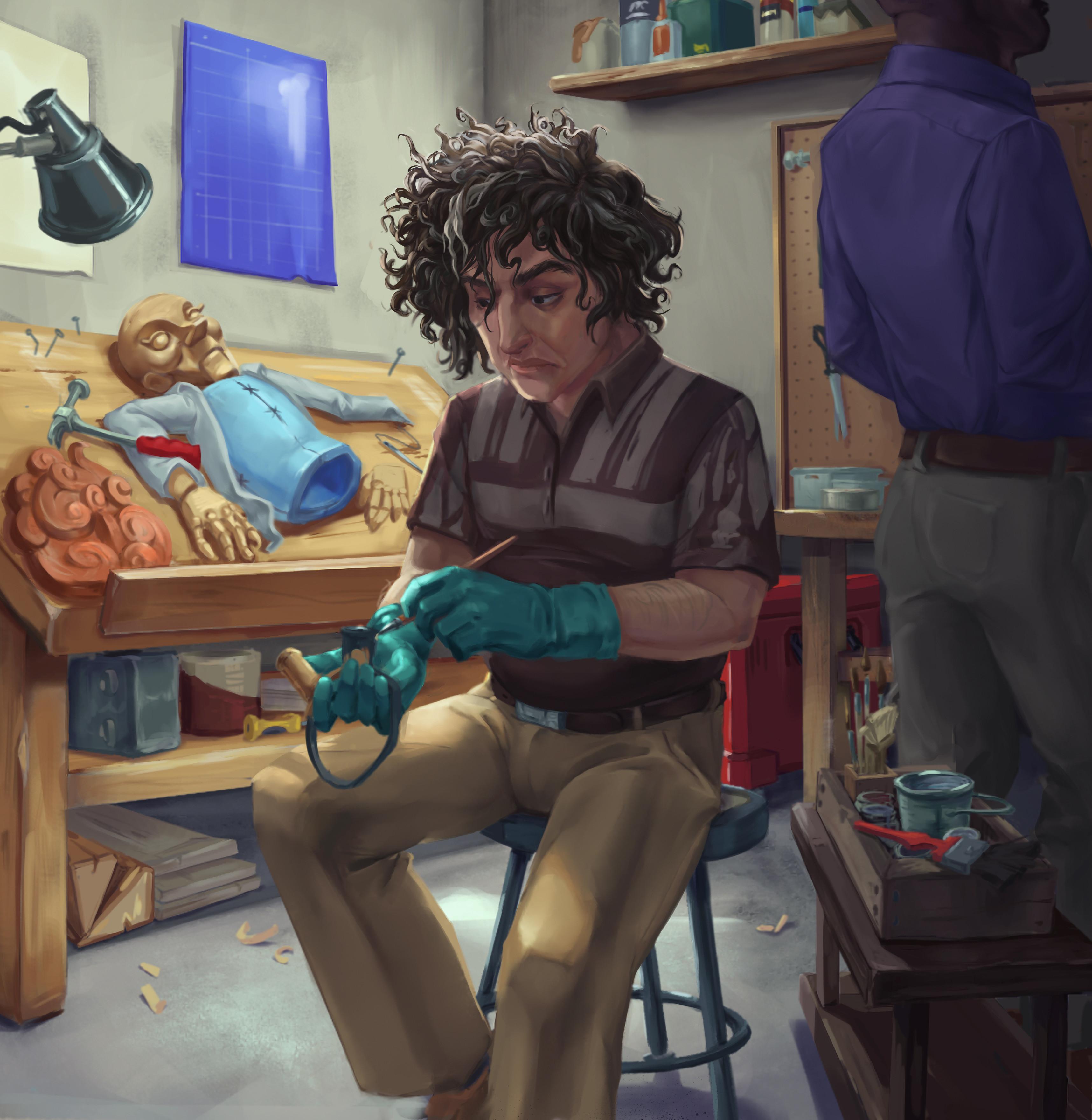 Owen creating Riley.