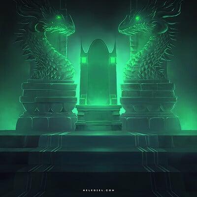 Nele diel dragon throne