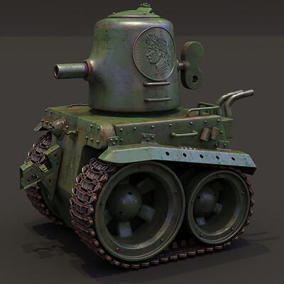 Ying te lien toy tank