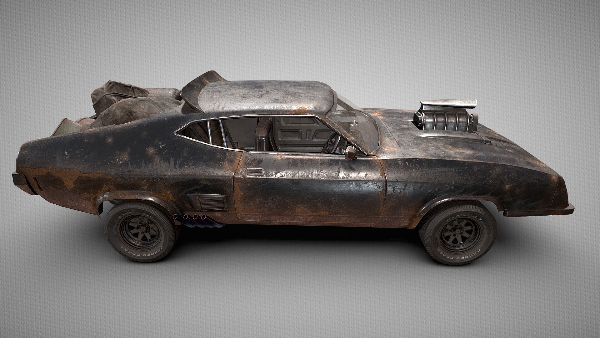 Artstation Ford Falcon Xb Gt Interceptor From Mad Max Fury Road Dawid Marciniak