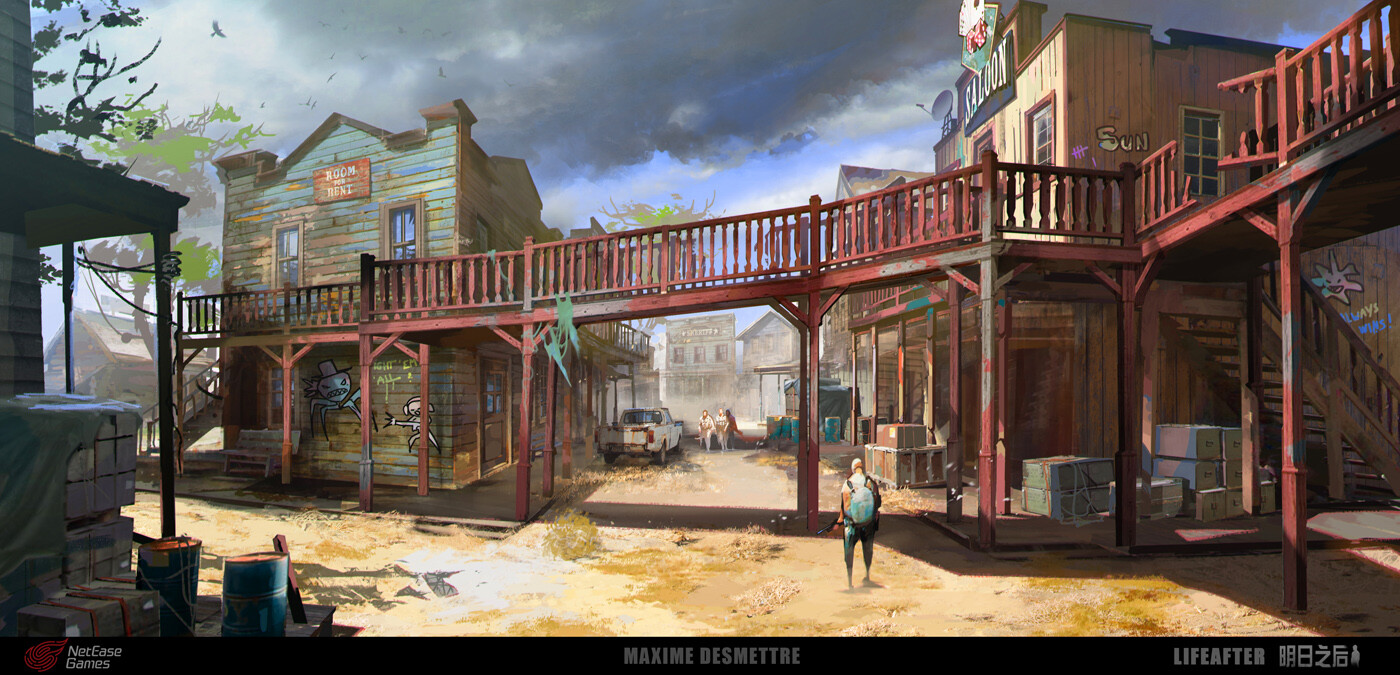 Life After - Western Town Street
