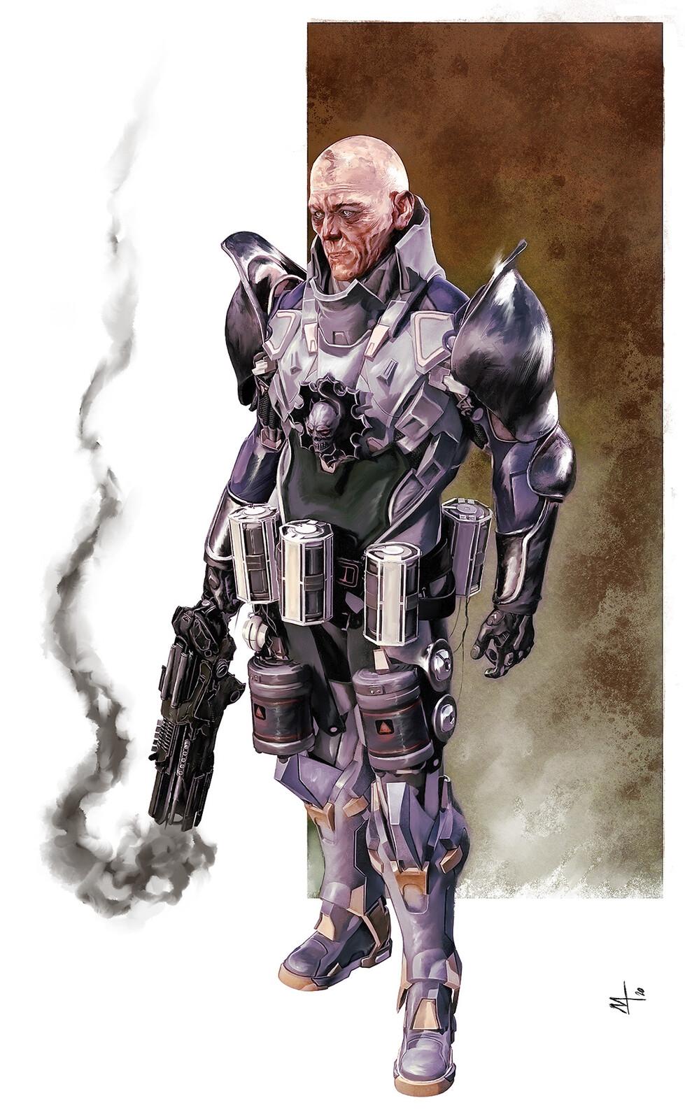 Concept Soldier