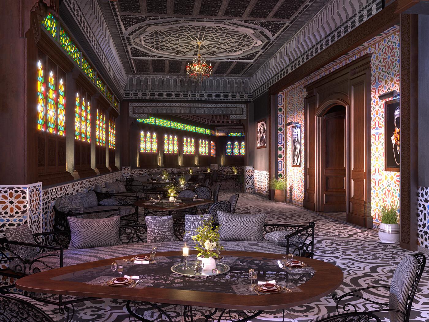 Artstation Moroccan Restaurant Soufian Ch