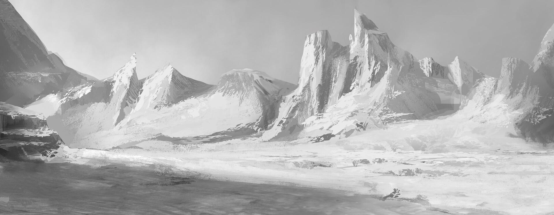 Landscape BG for transition scenes