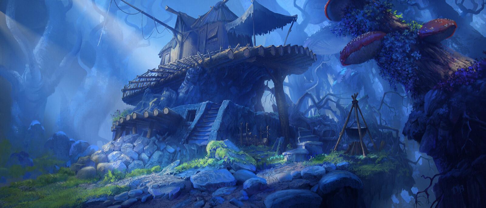 Damian bajowski witchs hut v13