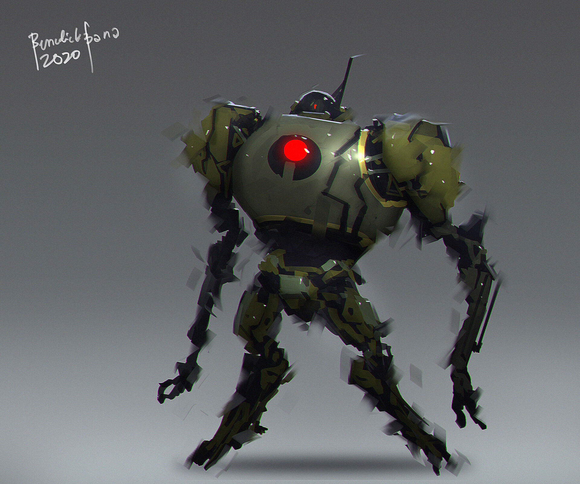 explosive unit -  robot