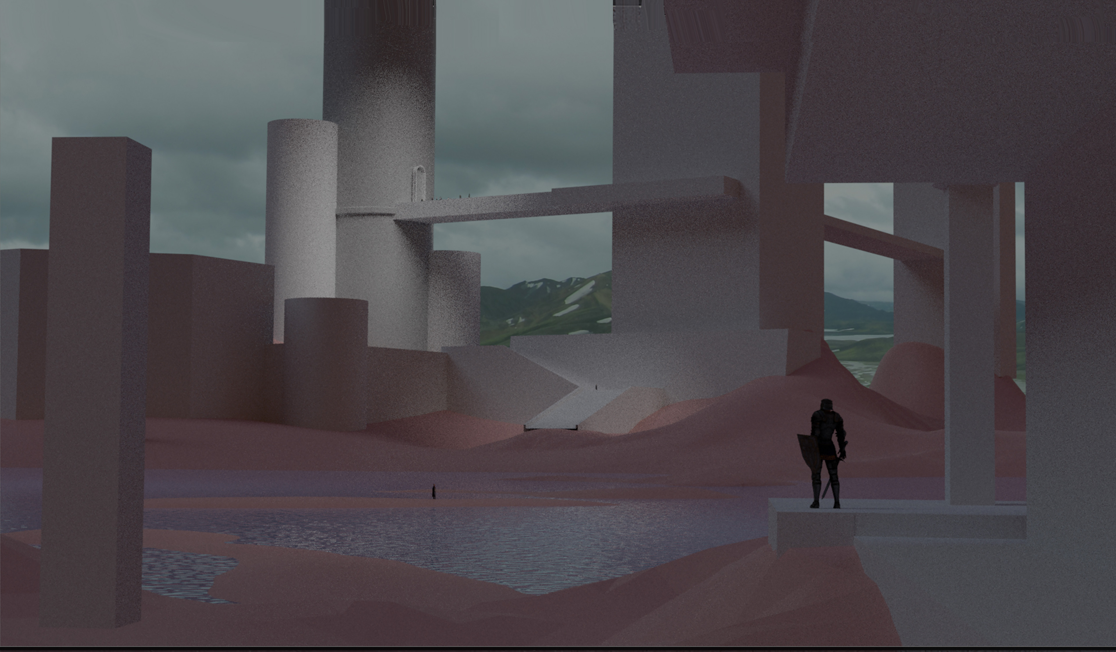 initial blockout