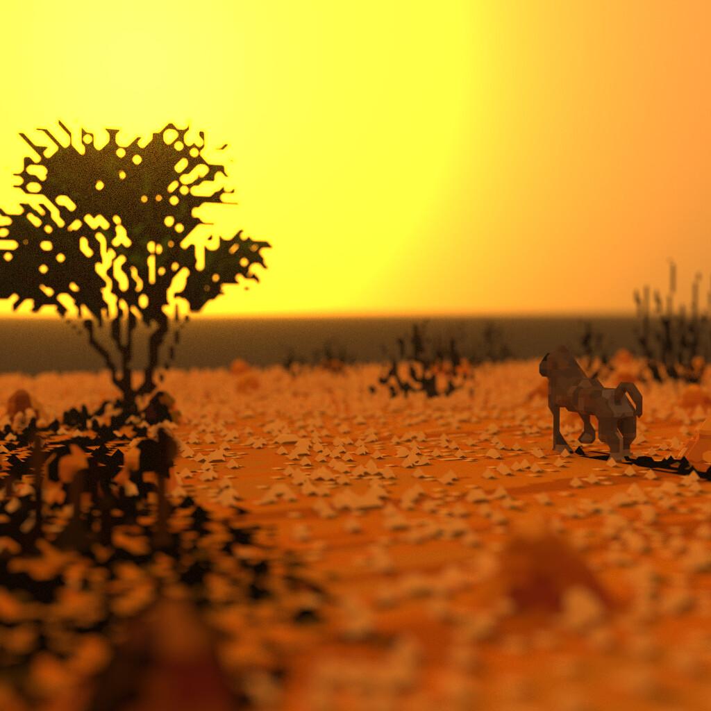Voxaweek: Desert Digital 3D, january 2020