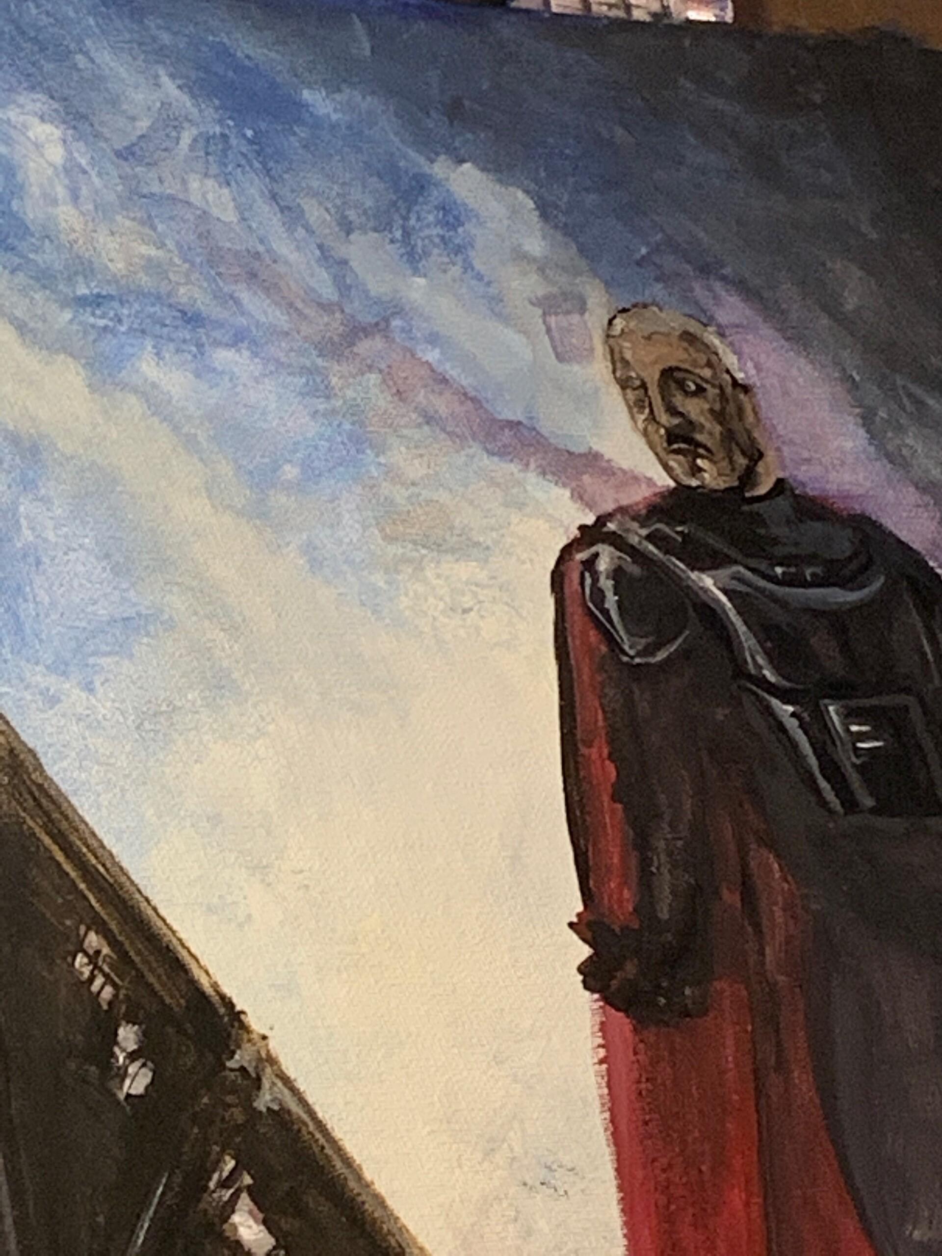 PROCESS: FIVE WIP Moff Gideon - Darksaber The Mandalorian