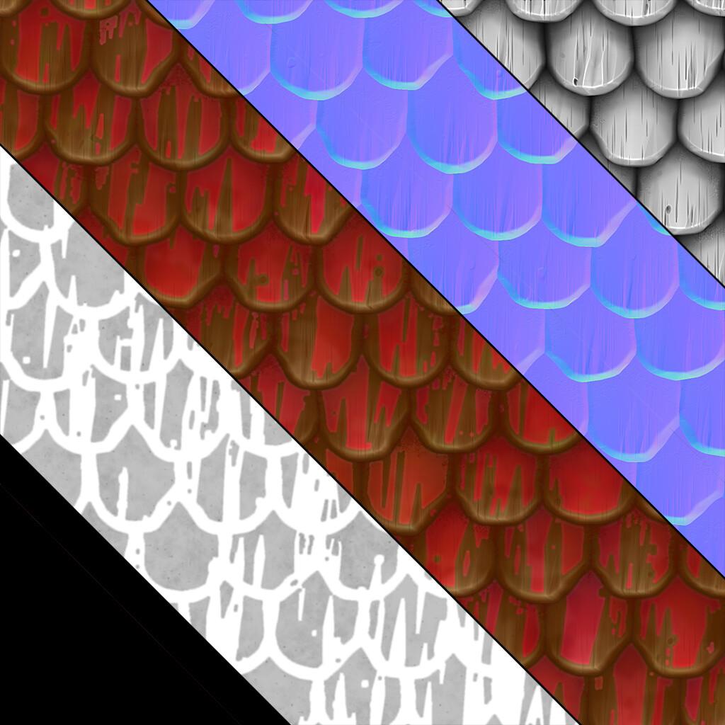 James braley jamesbraley stylizedroofred texture