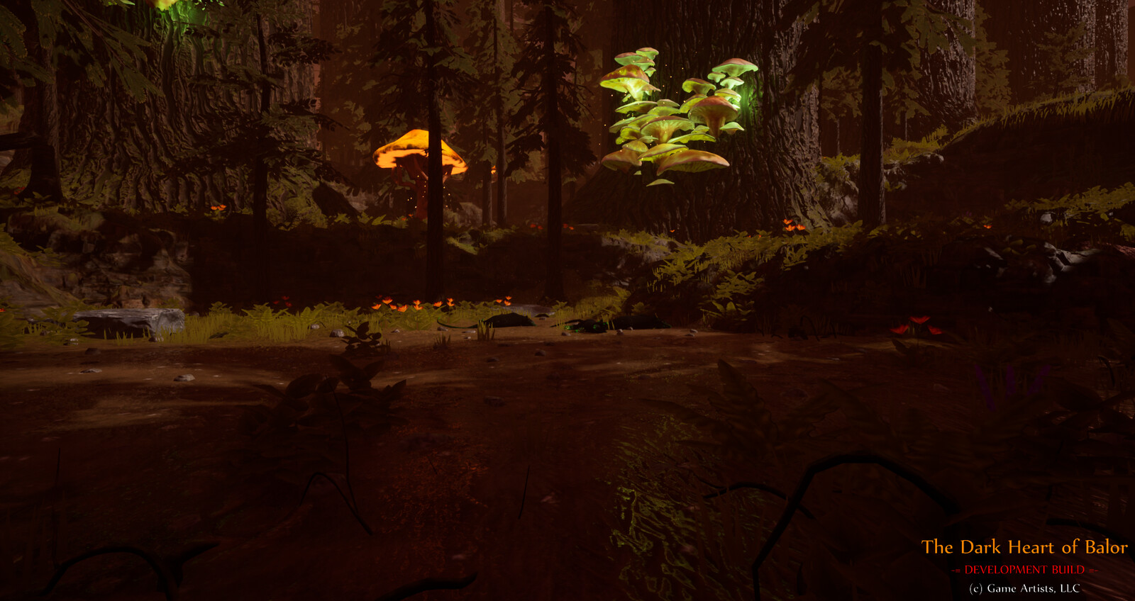 The Dark Heart of Balor Dev Shots