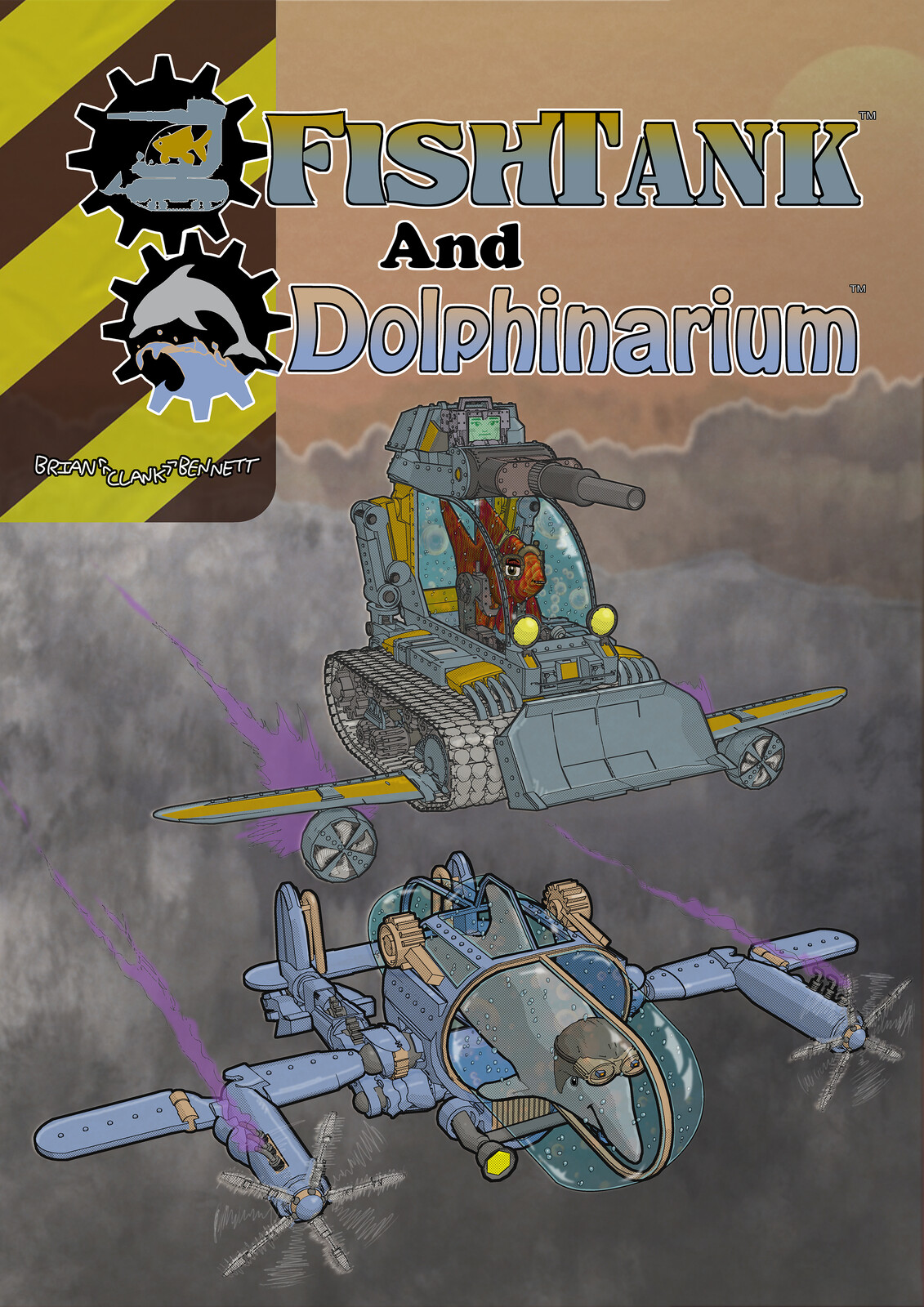 FishTank & Dolphinarium - Front Cover