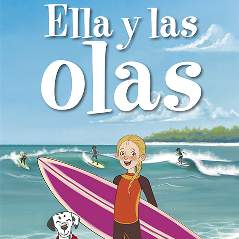 """Ella y las Olas"" by ©Benchmark Education"