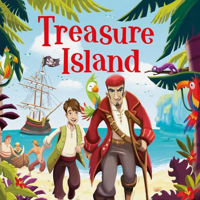 """Treasure Island"" by ©Igloo Books"